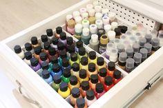 Scraproom: Paint Storage