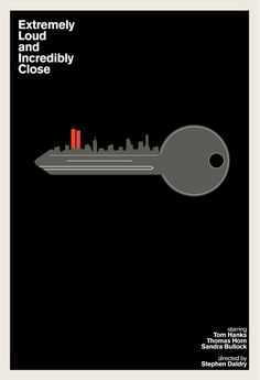 extremely loud and incredibly close - Minimal movie poster