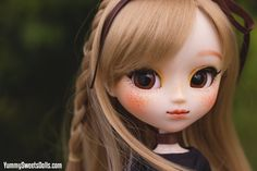 "OOAK ""Sunflower Seed Crumble"" Full Custom Pullip"