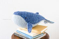 Baby Humpback Whale crochet pattern