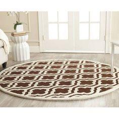 Safavieh Cambridge Kirsten Hand-Tufted Wool Area Rug, Brown