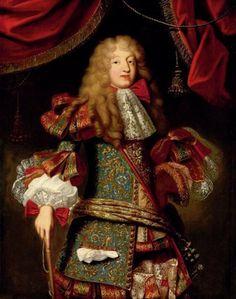 1680s Alexis Simon Belle - Portrait of man,... | History of fashion in art & photo