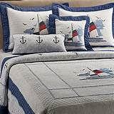 Sailboat Quilt | Dad Quilt | Pinterest