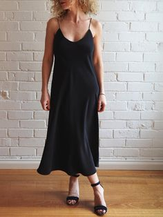Meet our latest pattern - the Sadie Slip Dress. Since we saw this trend popping up (and because we lived and loved it through the 90s), we've had this design on our patternmaking radar. Though it can
