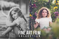 A BEST SELLER!! Fine Art Film Collection for Lightroom 4 and Lightroom 5. One of our best selling collections in the Pretty Presets store!