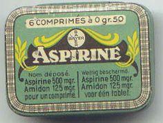 Bayer Aspirin 1899