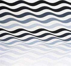 Bridget Riley - Op Art part 1 Victor Vasarely, Elements And Principles, Elements Of Art, Bridget Riley Art, Rhythm Art, Gcse Art, Art Uk, Art Abstrait, Illuminated Manuscript