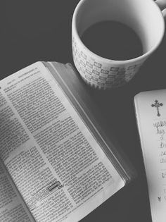 Time spent with God and a good cup of coffee
