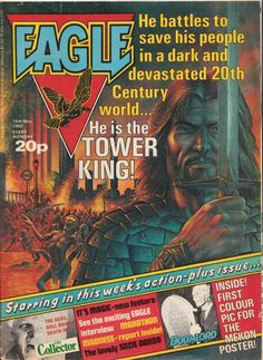 The Tower King - from the pages of Eagle