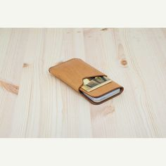 DHK GOODS iPhone 5S / 5 Sleeve  leather iPhone case by DHKgoods, $42.00