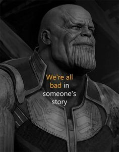 Thanos is Right.