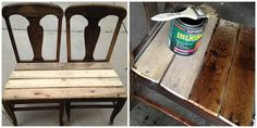Chair Graveyard Rescue {DIY Bench Project}