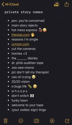 Noms Snapchat, Cute Snapchat Names, Story Snapchat, Snapchat Friend Emojis, Snapchat Story Questions, Snapchat Question Game, Snapchat Quotes, Snapchat Streak Emojis, Instagram Story Questions