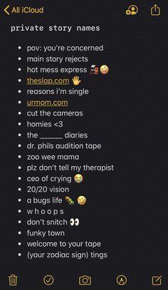 Instagram Captions For Selfies, Selfie Captions, Instagram And Snapchat, Instagram Bio, Instagram Quotes, Instagram Username Ideas, Snapchat Captions, Instagram Baddie, Noms Snapchat