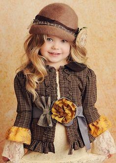 Cute little girl jacket