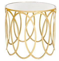 This Art Deco side table is the perfect MAYLA furnishing. SS14 celebrates the art movements directional shapes on silk blouses and dresses.  www.mayla.se