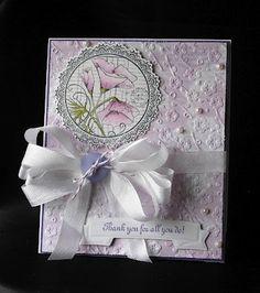 Sharon Suske!  Card making