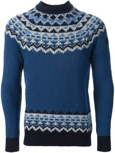 Moncler W Geometric Pattern Sweater - Antonia - Farfetch.com