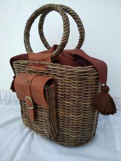0a8e07c89199 Woven bag, woven wallet, boho bag, bag for every day, hand basket, spring  gift, bag for the market