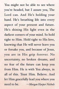 Trust God. Amen...Mildred Williams Thank You God !!! Hallelujah