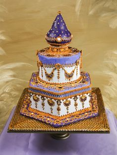 bollywood style wedding cakes - Google Search