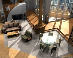 Frasier's Urban Skyrise Apartment Visualization