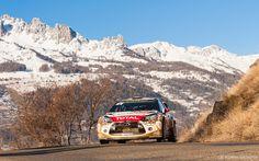 Citroën DS3 WRC (Sébastien LOEB / Daniel ELENA) - 83ème Rallye Monte-Carlo WRC 2015
