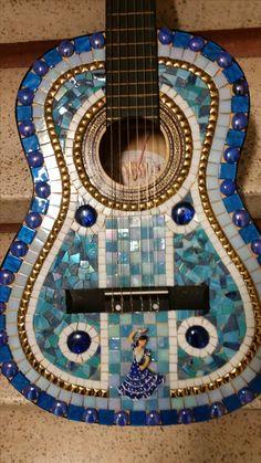 Guitar - Blue - Mosaic