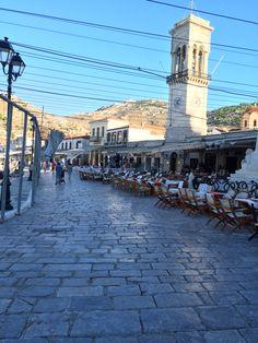 Hydras port, Greece