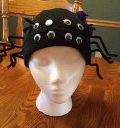 Cute spider costume hat by KnittingKnotty on Etsy, $15.00