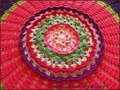 towel crochet collors