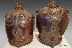 Tikar Terracotta Urns - Exquisite African Art