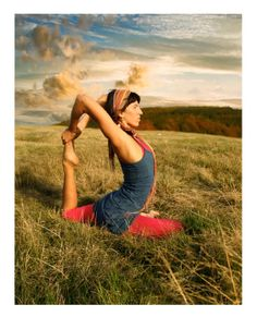 Yoga Pose of the Day One-Legged King Pigeon Pose