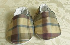 Silk Slippers Baby Slippers 912 Month Slippers by sunsparrowsewing, $15.00