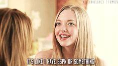 """""""It's like I have ESPN or something."""" 