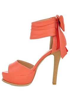 Who can hold on the temptation of the knot and zippers?ENMAYER Women's Party Orange PU Bowtie Zip Thin Heel Sandals 4 B(M) US ENMAYER http://www.amazon.com/dp/B00V394ULC/ref=cm_sw_r_pi_dp_Ip66wb0HSRPZR