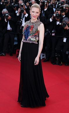 Cate Blanchett in Givenchy at the 2014 Cannes Film Festival