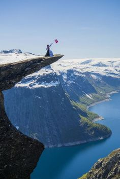 Trolltunga. Trolltunga Active invites you on a tour trough the new via ferrata route Himmelstigen to Trolltunga/Preikestolen. It's a hike filled with impressing attractions and Norwegian history. The Ringedal lake, the Ringedal dam, Tyssebotn,