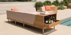 If I had the pool, I'd have this furniture. Tiempo Collection