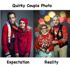 Christmas Expectations vs. Reality