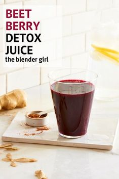 This spicy beet juice is one of my favorite detox juices. Most beet juice recipes rely on apple to sweeten the deal. This recipe utilizes the natural sweetness of carrot and the zestiness of lemon to lift the earthiness of the beet. Detox Diet Drinks, Detox Juice Cleanse, Detox Juice Recipes, Natural Detox Drinks, Detox Juices, Cleanse Recipes, Smoothie Recipes, Juicer Recipes, Blender Recipes
