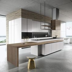 390 best Cool Kitchens images on Pinterest in 2018 | Modern kitchens ...