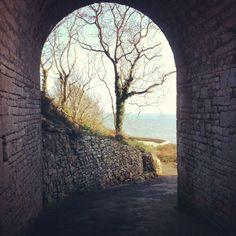 Rufus Castle - Church Ope Cove - Portland, Dorset - one of my favourite views!