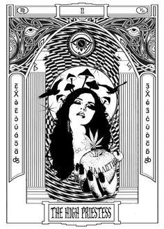 Occult Detective Skrá Tarot: The High Priestess high priestess tarot images - Google Search