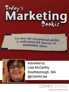 """""""You have the exceptional ability to understand the fancies of marketable ideas."""""""