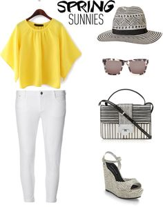 natasha kundi styles 1 monochrome and yellow