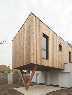 2018- Construction de 2 maisons contemporanes à Epinay sur Seine