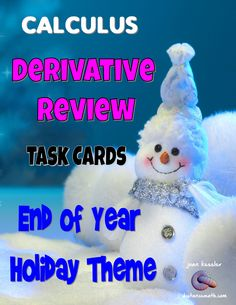 Calculus Unit 2 Derivative and Differentiation Review with Fun Holiday Themes. Calculus Notes, Ap Calculus, Energy Technology, Engineering Technology, Chemical Engineering, Electrical Engineering, Holiday Themes, Holiday Fun, Math Resources