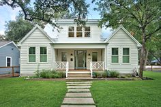 1707 West 32nd Street in the Brykerwoods neighborhood of Austin, Tx 78703.  Remodel by Avenue B Development