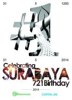 #Surabaya #1 poster, celebrating surabaya 721 anniversary